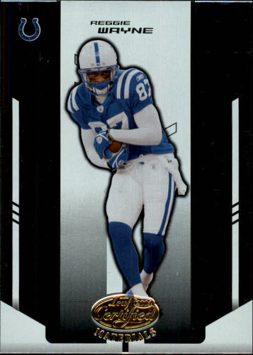 2004 Leaf Certified Materials #51 Reggie Wayne