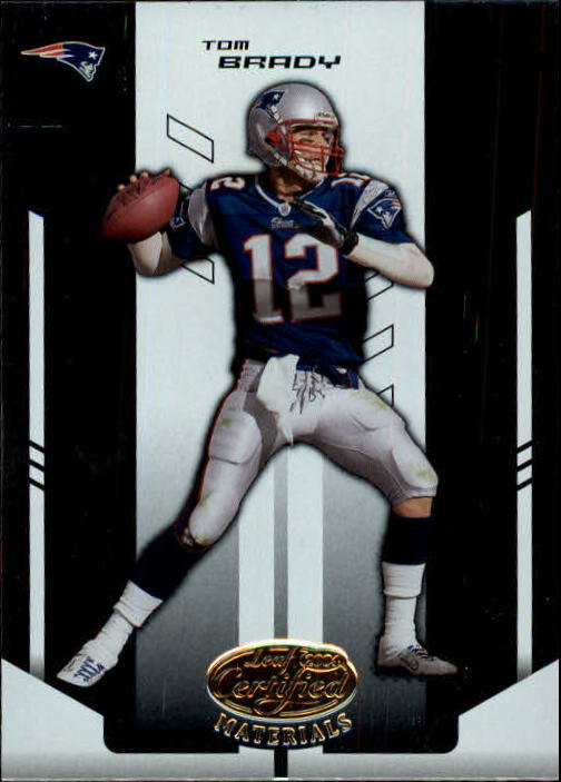 2004 Leaf Certified Materials #71 Tom Brady