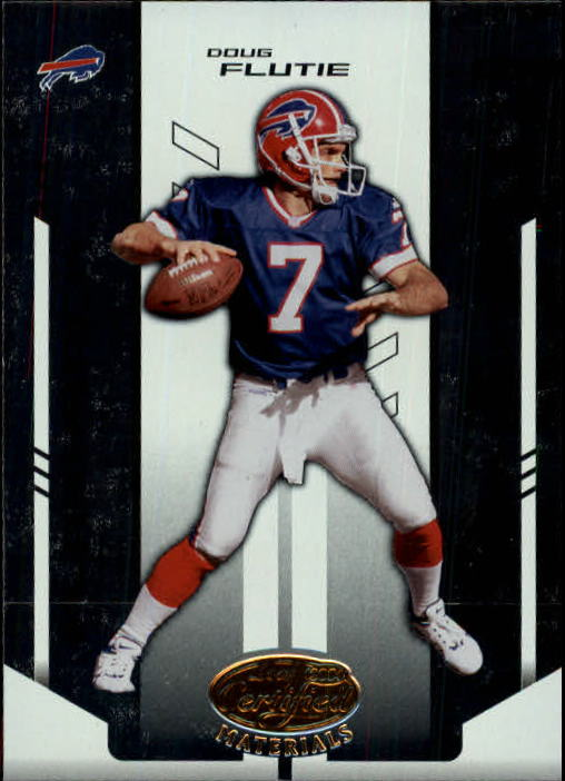 2004 Leaf Certified Materials #130 Doug Flutie FLB