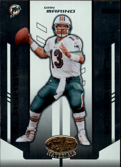 2004 Leaf Certified Materials #138 Dan Marino FLB