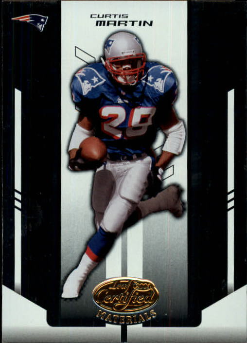 2004 Leaf Certified Materials #139 Curtis Martin FLB