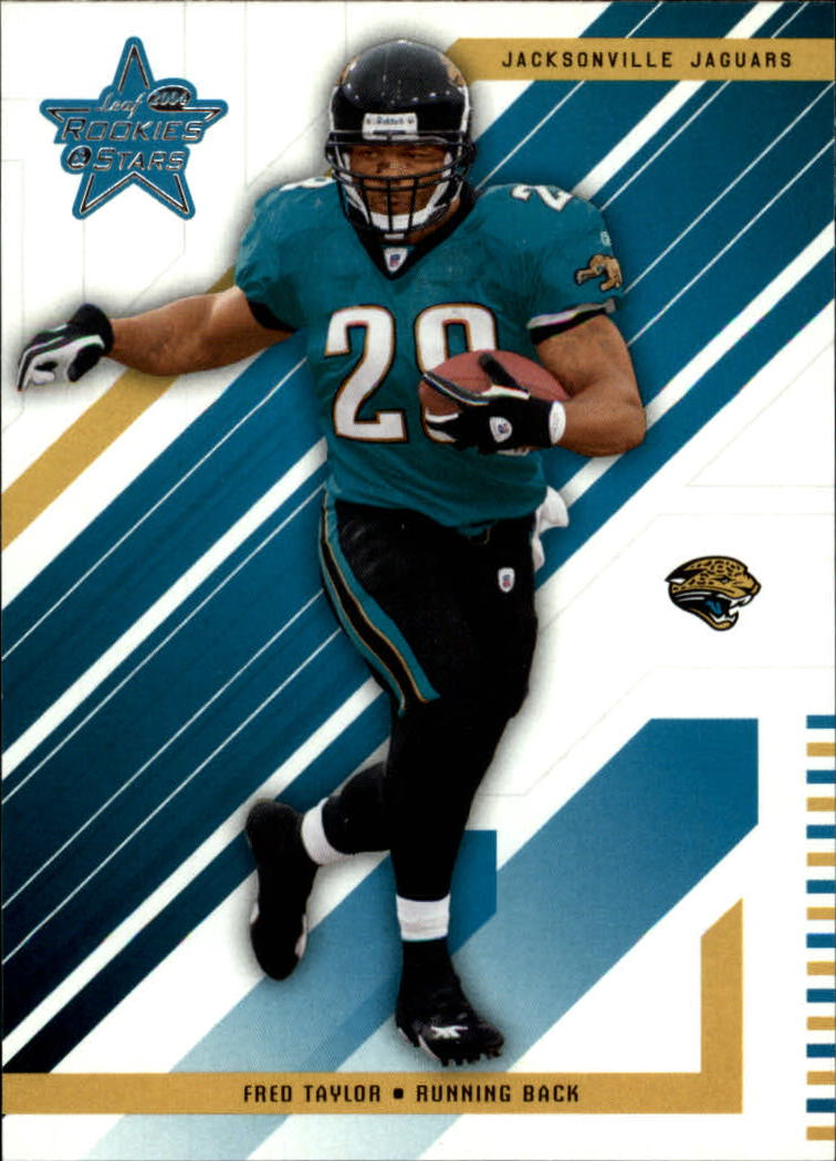 2004 Leaf Rookies and Stars #43 Fred Taylor