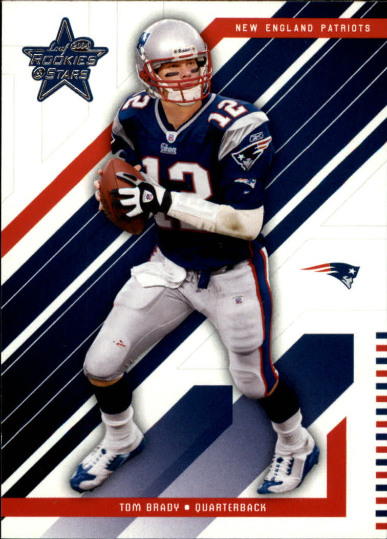 2004 Leaf Rookies and Stars #56 Tom Brady