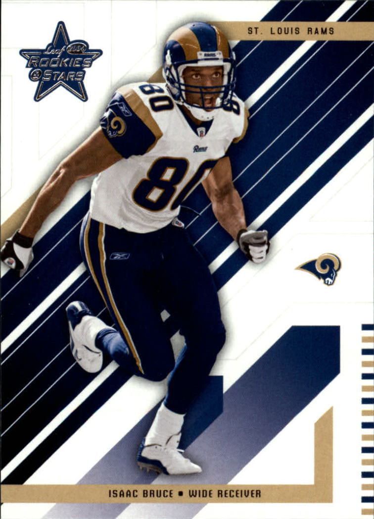 2004 Leaf Rookies and Stars #81 Isaac Bruce
