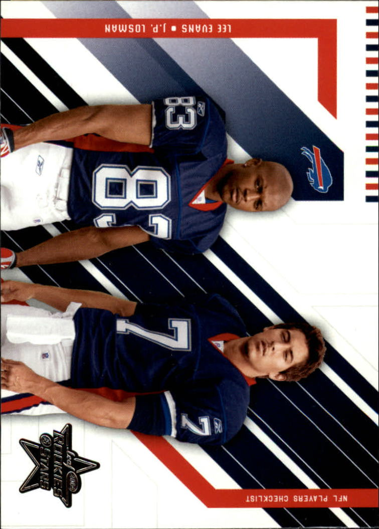 2004 Leaf Rookies and Stars #96 J.P. Losman CL/Lee Evans front image
