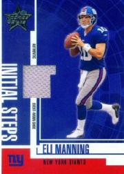 2004 Leaf Rookies and Stars Initial Steps Shoe #IS1 Eli Manning