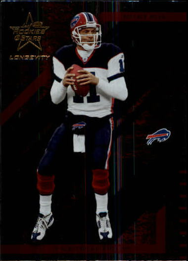 2004 Leaf Rookies and Stars Longevity #11 Drew Bledsoe