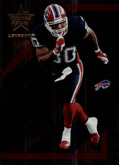 2004 Leaf Rookies and Stars Longevity #12 Eric Moulds