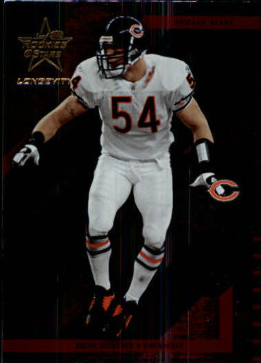 2004 Leaf Rookies and Stars Longevity #17 Brian Urlacher