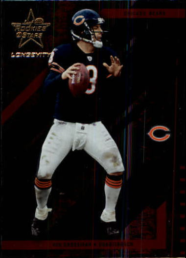2004 Leaf Rookies and Stars Longevity #18 Rex Grossman