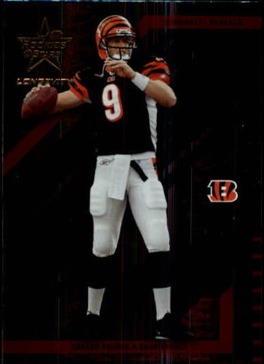 2004 Leaf Rookies and Stars Longevity #20 Carson Palmer