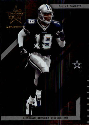2004 Leaf Rookies and Stars Longevity #25 Keyshawn Johnson