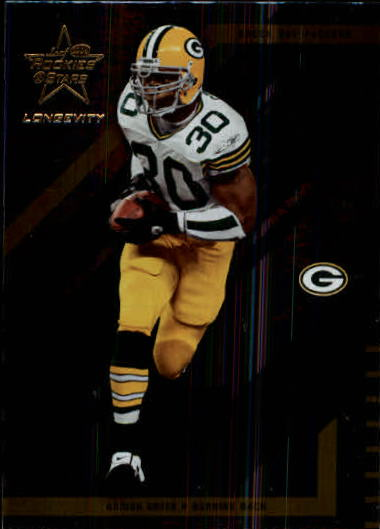2004 Leaf Rookies and Stars Longevity #33 Ahman Green