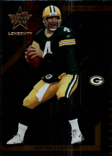 2004 Leaf Rookies and Stars Longevity #34 Brett Favre