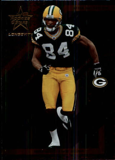 2004 Leaf Rookies and Stars Longevity #35 Javon Walker