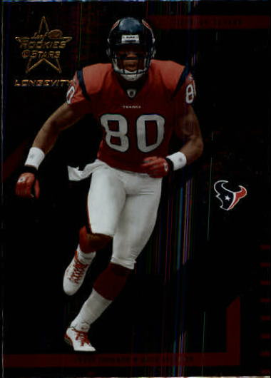 2004 Leaf Rookies and Stars Longevity #36 Andre Johnson