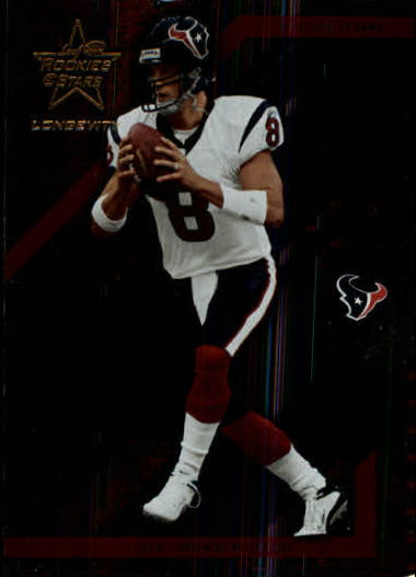 2004 Leaf Rookies and Stars Longevity #37 David Carr
