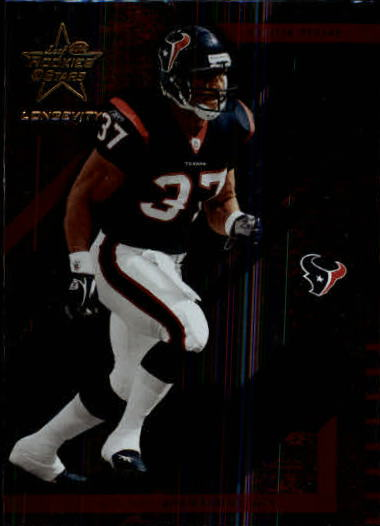 2004 Leaf Rookies and Stars Longevity #38 Domanick Davis