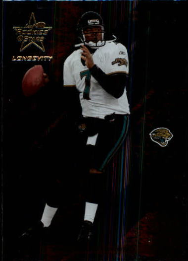 2004 Leaf Rookies and Stars Longevity #42 Byron Leftwich