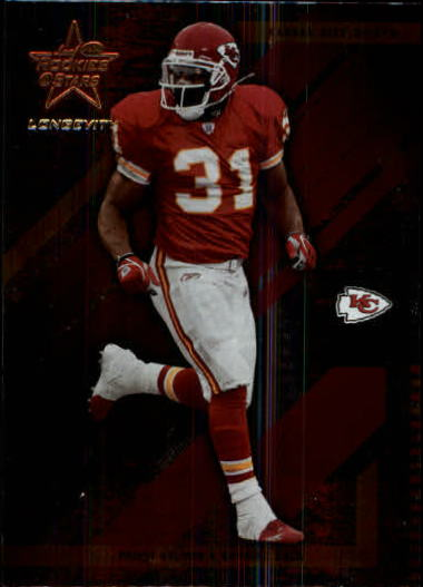 2004 Leaf Rookies and Stars Longevity #45 Priest Holmes