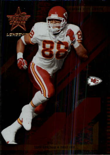 2004 Leaf Rookies and Stars Longevity #46 Tony Gonzalez