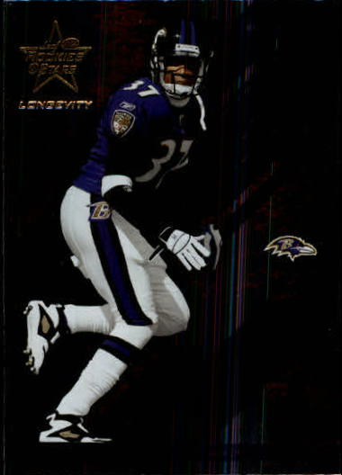 2004 Leaf Rookies and Stars Longevity #50 Deion Sanders front image