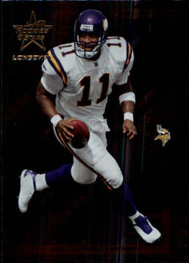 2004 Leaf Rookies and Stars Longevity #51 Daunte Culpepper