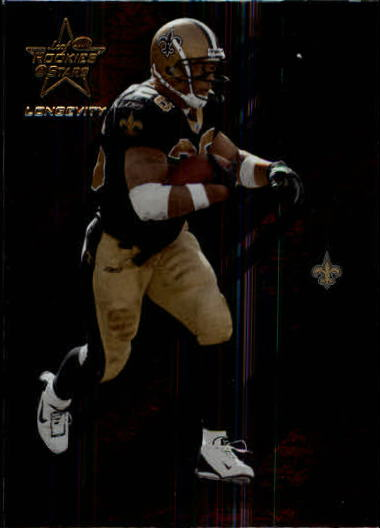 2004 Leaf Rookies and Stars Longevity #58 Deuce McAllister