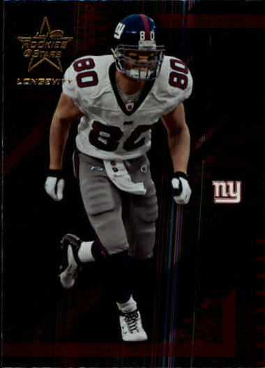 2004 Leaf Rookies and Stars Longevity #60 Jeremy Shockey