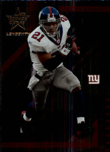 2004 Leaf Rookies and Stars Longevity #62 Tiki Barber