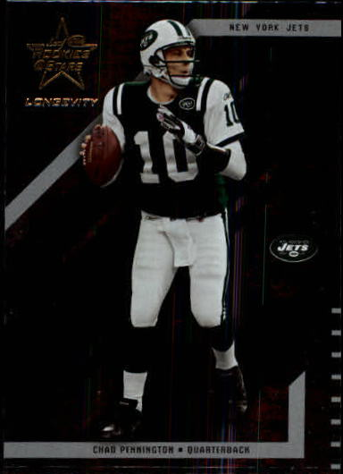 2004 Leaf Rookies and Stars Longevity #63 Chad Pennington