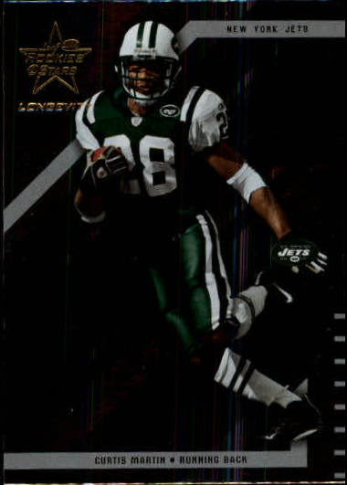 2004 Leaf Rookies and Stars Longevity #64 Curtis Martin