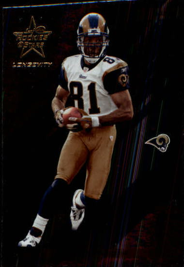 2004 Leaf Rookies and Stars Longevity #84 Torry Holt