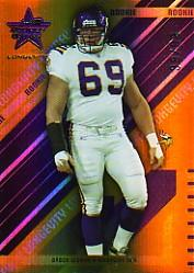 2004 Leaf Rookies and Stars Longevity Gold #155 Brock Lesnar