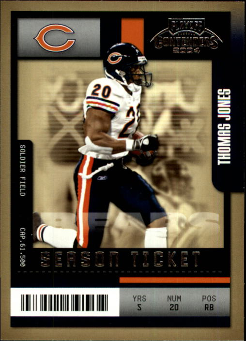 2004 Playoff Contenders #21 Thomas Jones