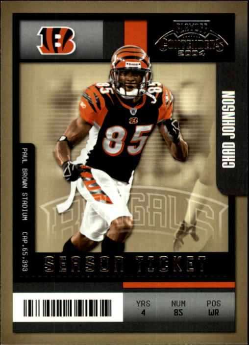 2004 Playoff Contenders #23 Chad Johnson