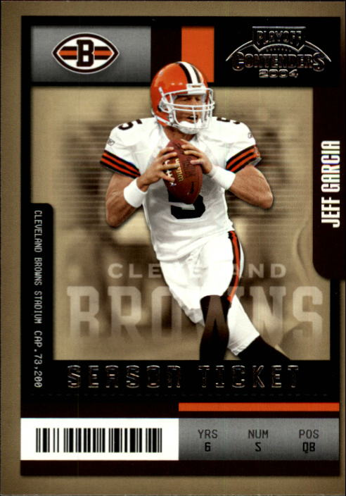 2004 Playoff Contenders #25 Jeff Garcia