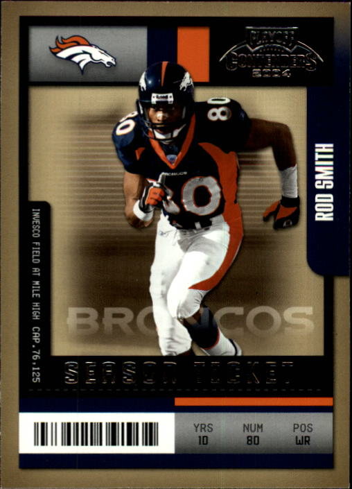 2004 Playoff Contenders #34 Rod Smith