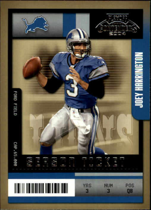 2004 Playoff Contenders #36 Joey Harrington