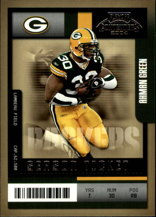 2004 Playoff Contenders #37 Ahman Green