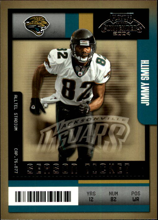 2004 Playoff Contenders #48 Jimmy Smith