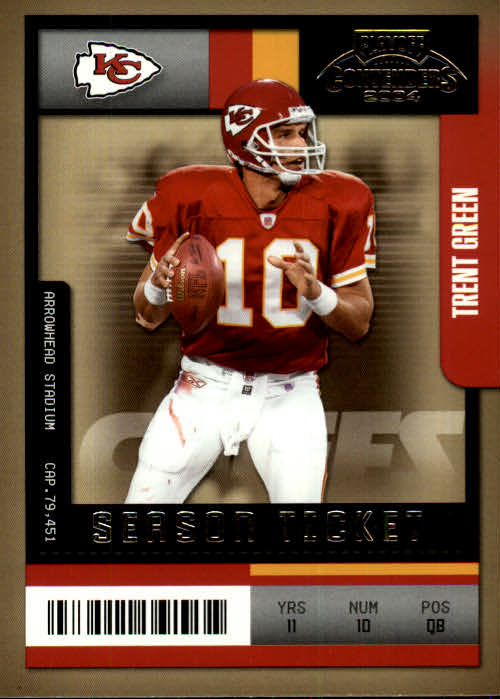 2004 Playoff Contenders #51 Trent Green