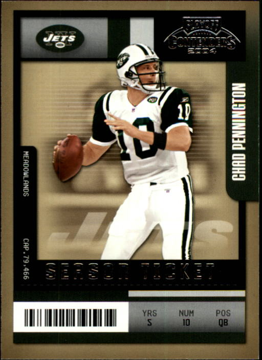 2004 Playoff Contenders #69 Chad Pennington
