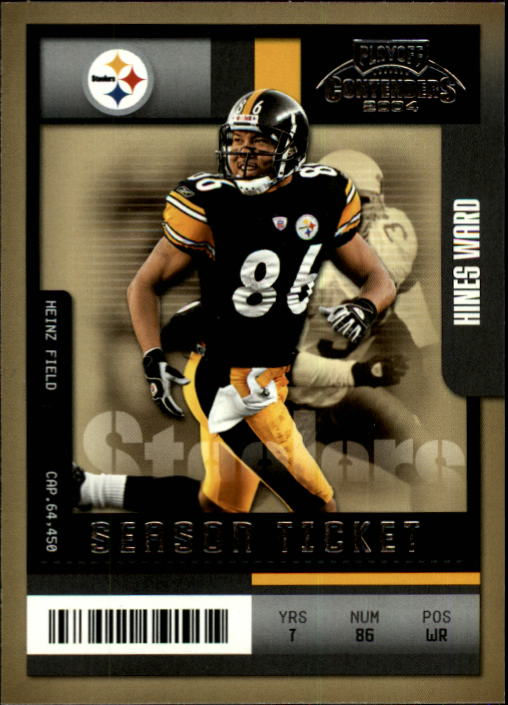 2004 Playoff Contenders #80 Hines Ward