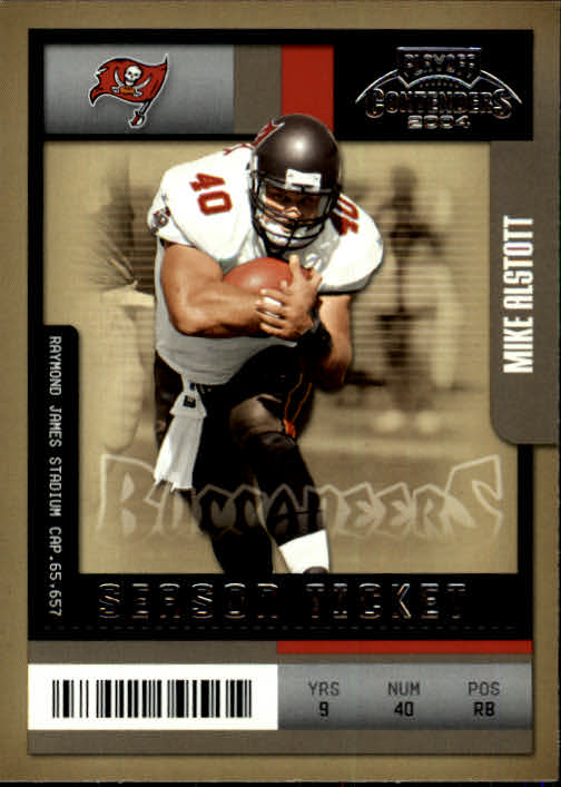 2004 Playoff Contenders #93 Mike Alstott