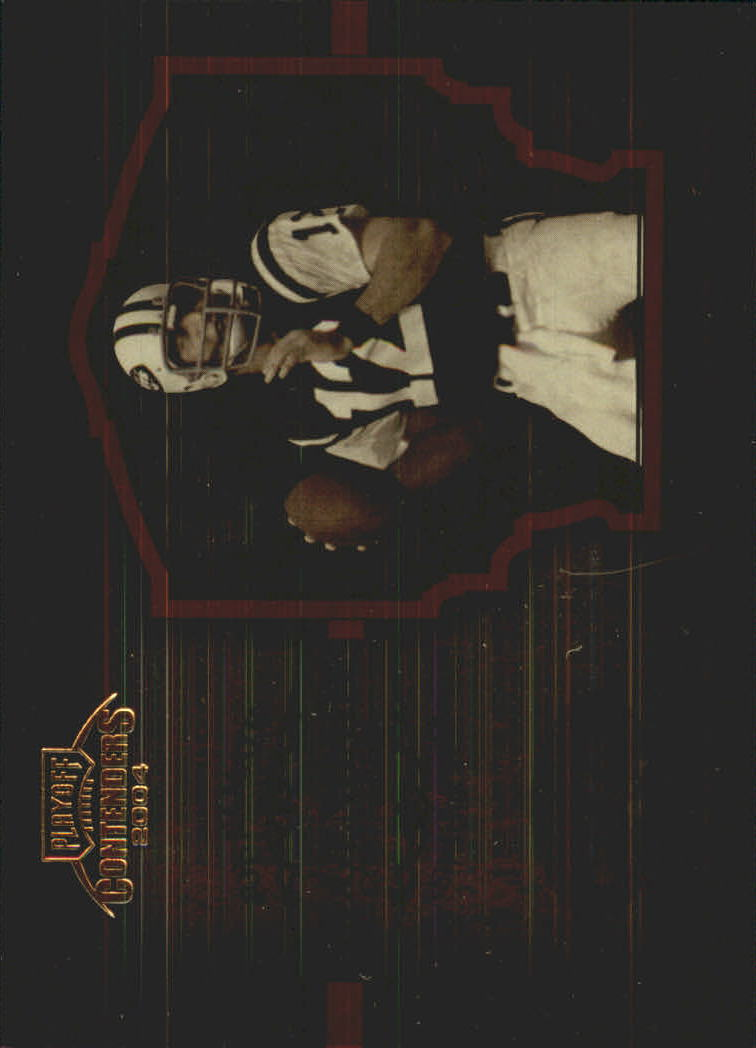 2004 Playoff Contenders Legendary Contenders Orange #LC6 Joe Namath