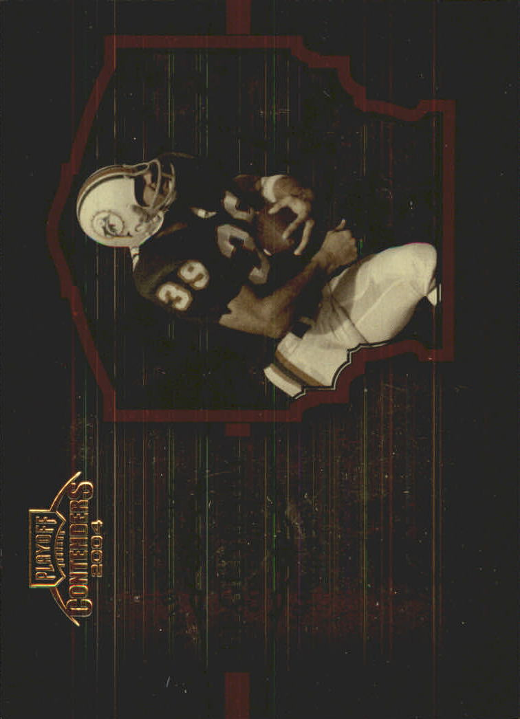 2004 Playoff Contenders Legendary Contenders Orange #LC7 Larry Csonka