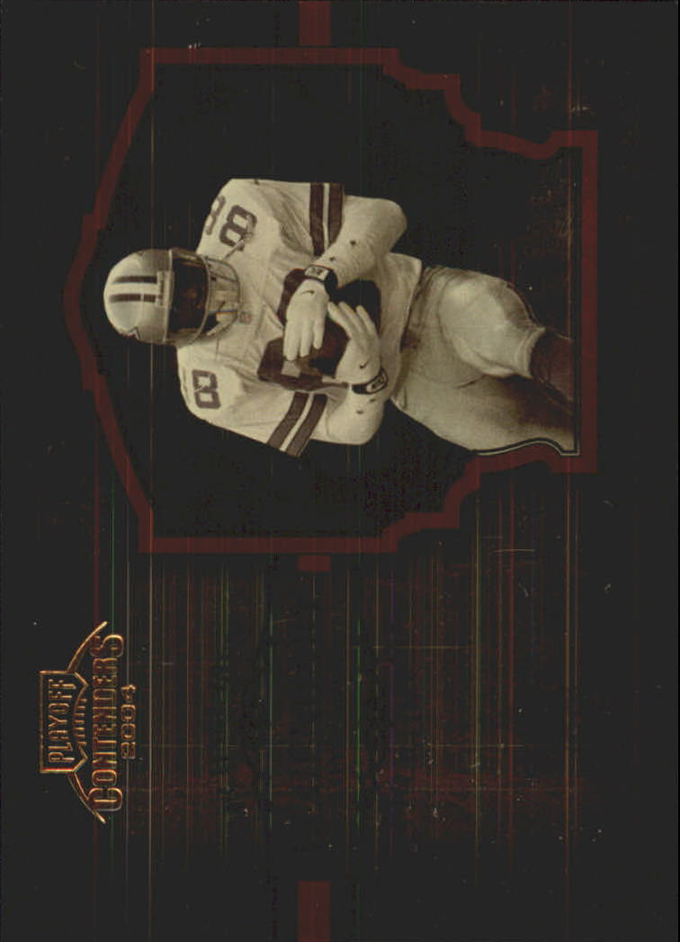 2004 Playoff Contenders Legendary Contenders Orange #LC9 Michael Irvin
