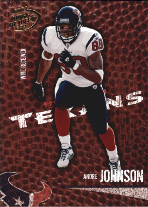 2004 Playoff Hogg Heaven #37 Andre Johnson