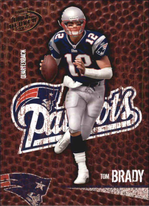 2004 Playoff Hogg Heaven #58 Tom Brady
